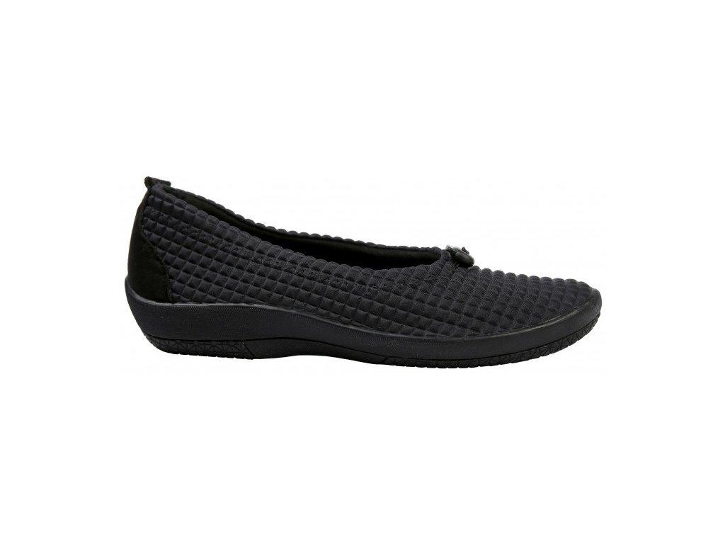 PINHAO elastická obuv dámská černá Nursing Care