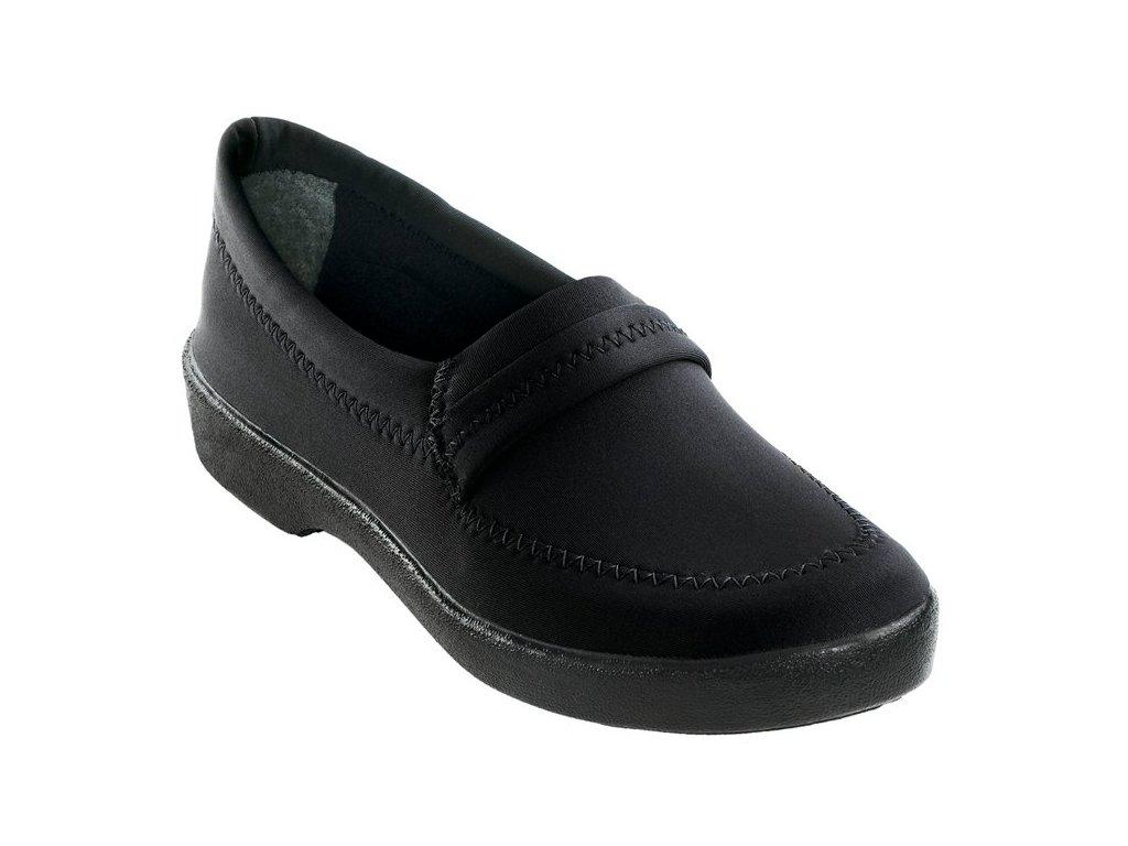AMENDOA elastická obuv dámská černá O753 Nursing Care zdravotní(1)
