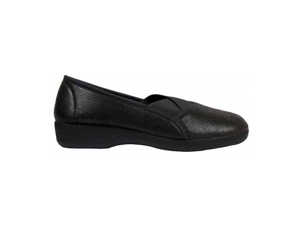 GOJI elastická obuv dámská černá Nursing Care