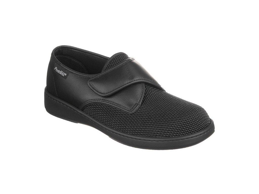 ALVINE halluxová obuv unisex elastická ve špici černá PodoWell 1