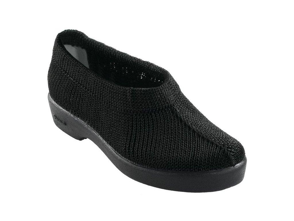 LIMA elastická obuv dámská černá O103 Nursing Care