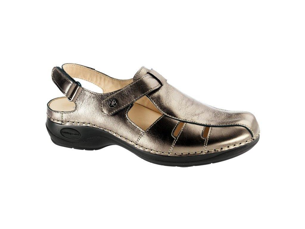 MARTINICA zdravotní sandál s plnou špicí dámský bronzový C1214 Nursing Care