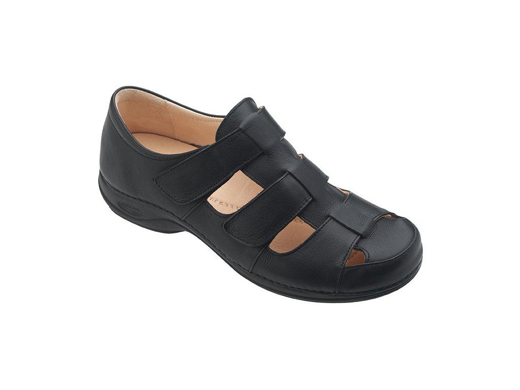TUA pánský zdravotní sandálek černá C1311 Nursing Care 2