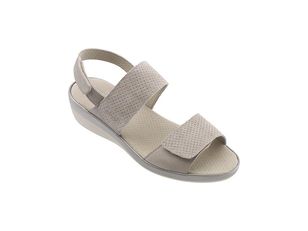 BORA BORA zdravotní sandálek dámská taupe C23G15 Nursing Care 3