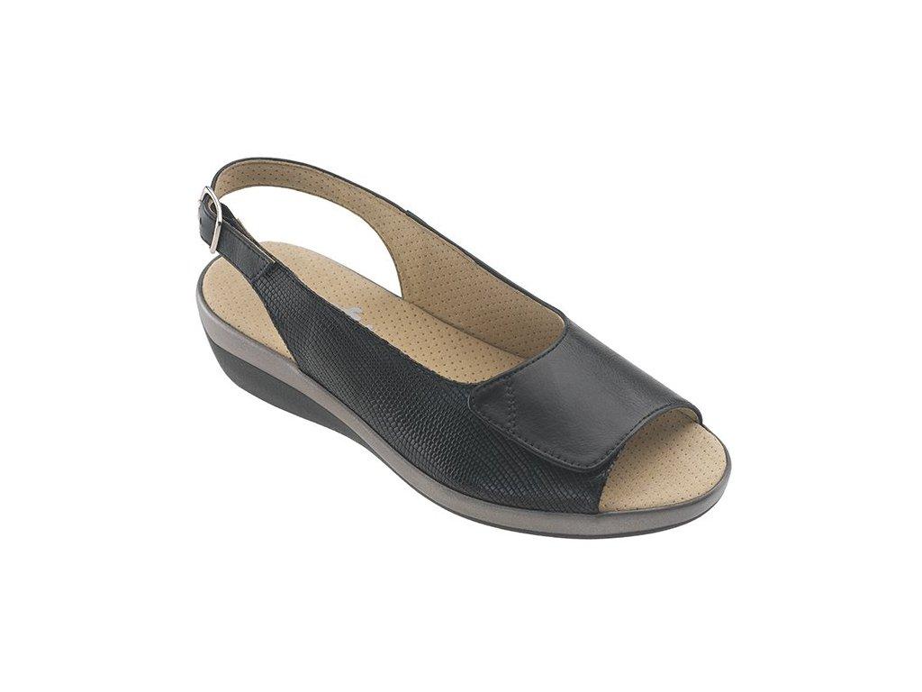MIAMI zdravotní sandálek černá C21G11 Nursing Care 3