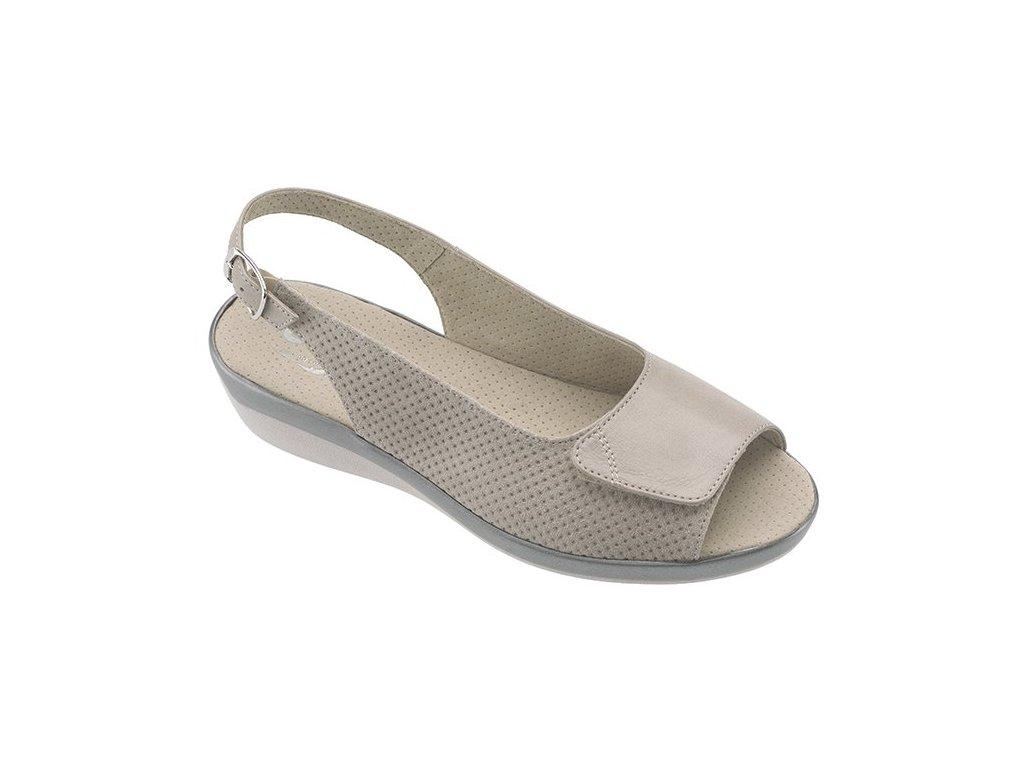 MIAMI zdravotní sandálek taupe C20G15 Nursing Care 3