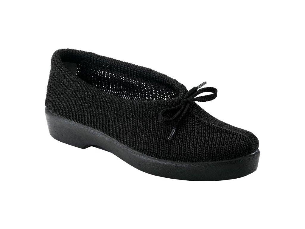 KIWI zdravotní obuv dámská černá O103A Nursing Care