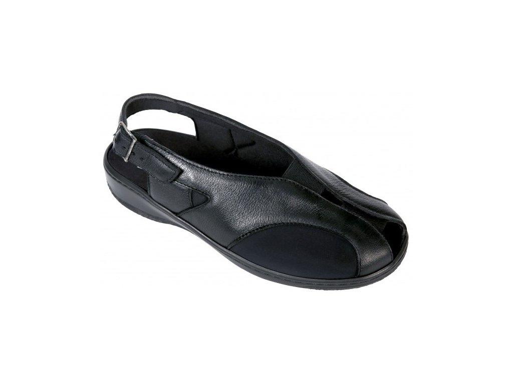 PICO zdravotní strečový sandálek černý ST42L11 Nursing Care 1