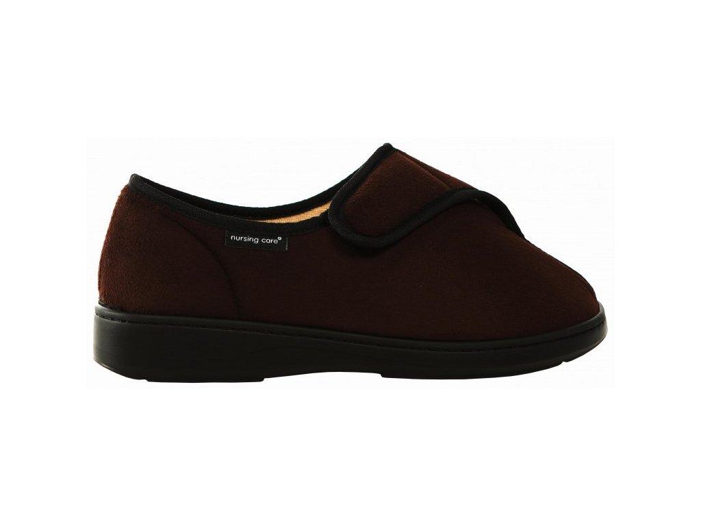 MARAO zdravotní obuv hnědá M5T02 Nursing Care