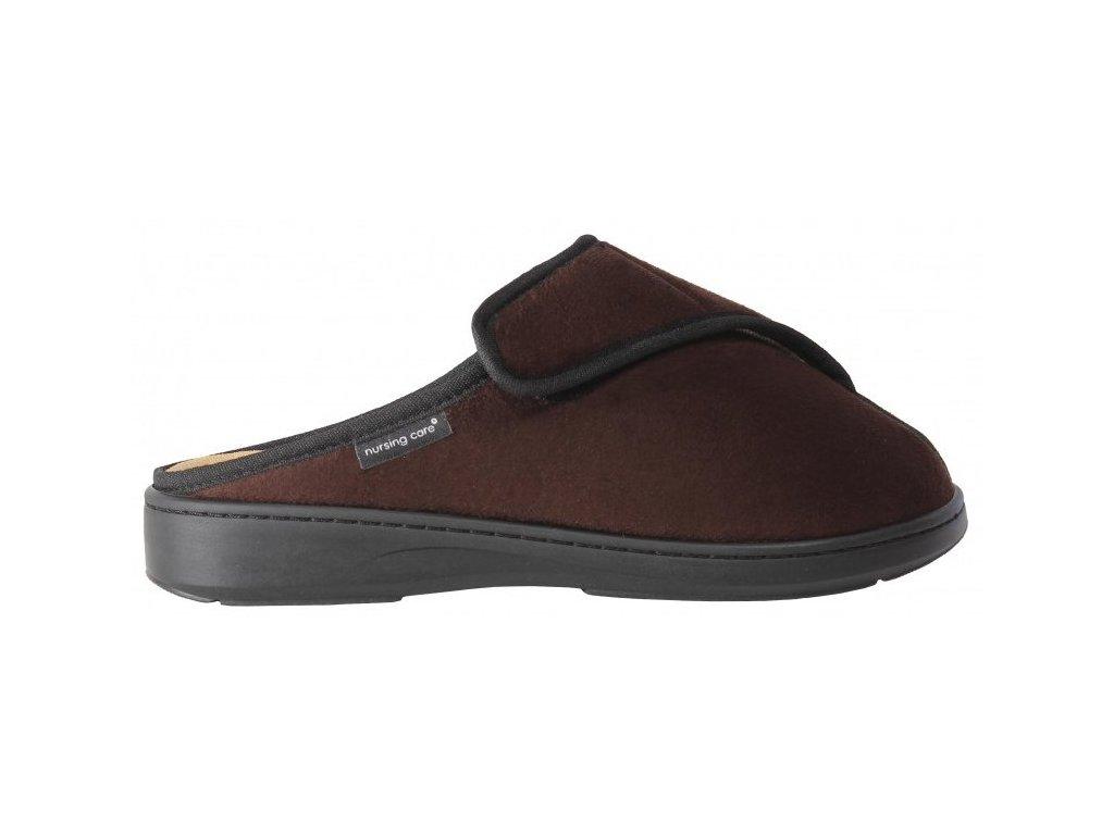 SICÓ zdravotní pantofle unisex hnědá M13T02 Nursing Care