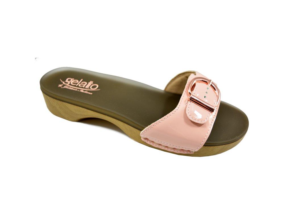 SOLE MIO zdravotní pantofle dámská růžová PodoWell