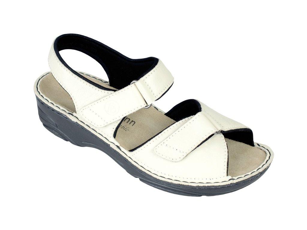 FABIENNE zdravotní pratelný sandálek dámský béžový Berkemann