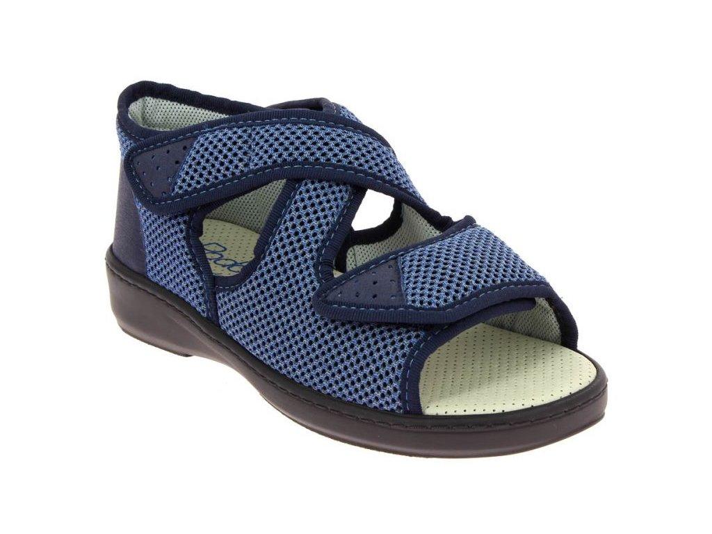 ATHENA zdravotní sandálek unisex modrá PodoWell 1