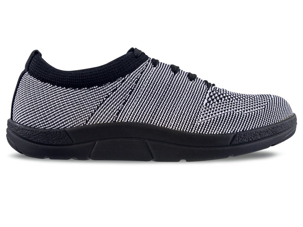 ALLEGRA elastická zdravotní obuv dámská černobílá Berkemann