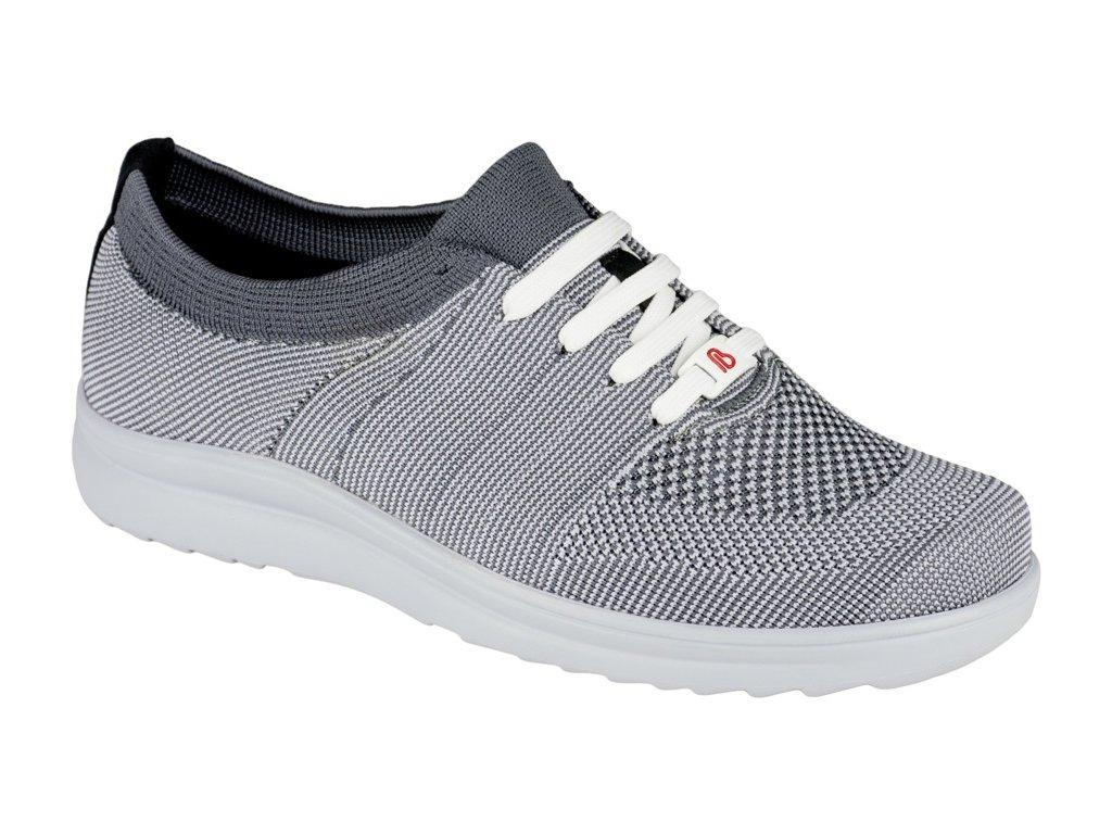ALLEGRO elastická zdravotní obuv pánská šedá Berkemann