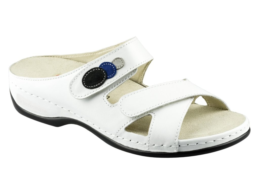 FELIA zdravotní pantofle dámská bílá Berkemann