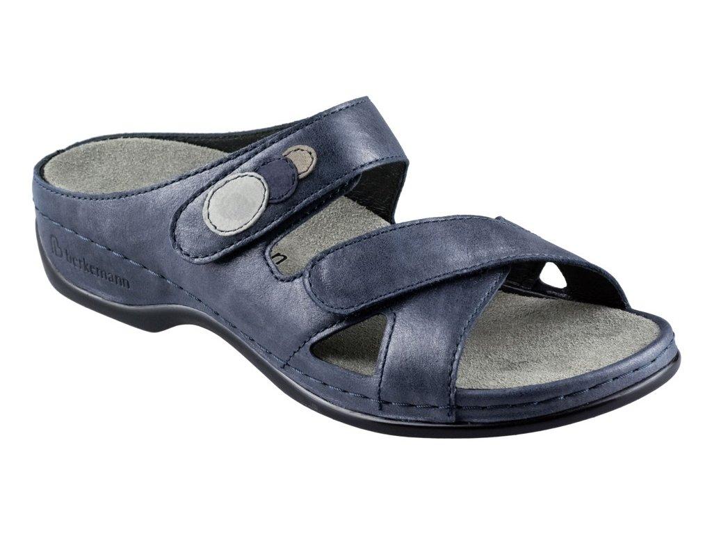 FELIA zdravotní pantofle dámská modrá Berkemann
