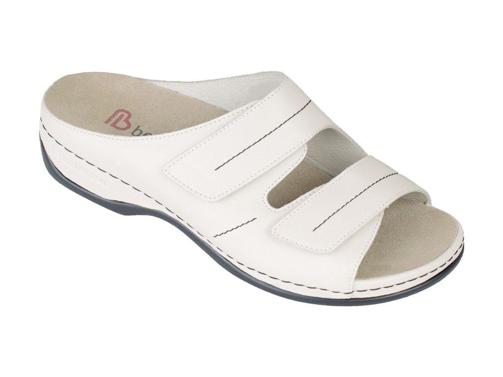 DARIA zdravotní pantofle dámská smetanová Berkemann