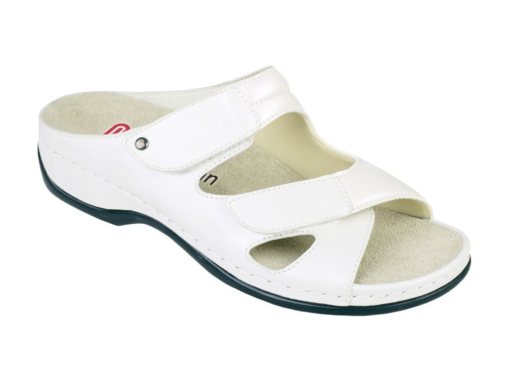 JANNA halluxový pantofel dámský béžový Berkemann