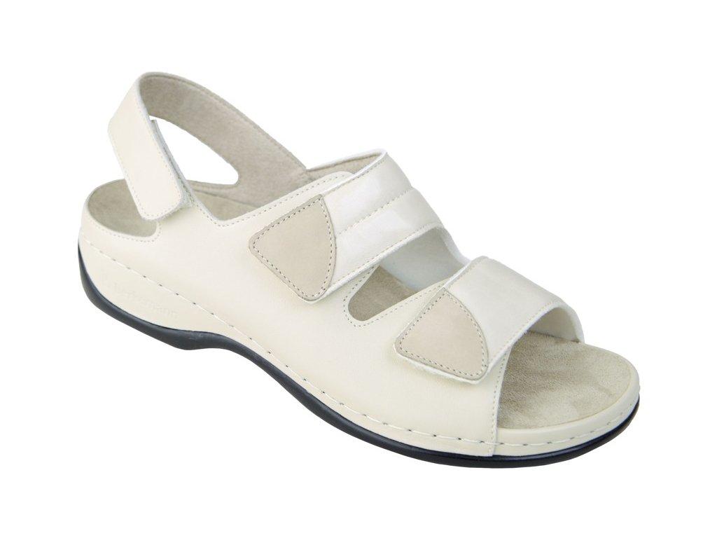 SOFIE dámský halluxový sandálek béžový Berkemann