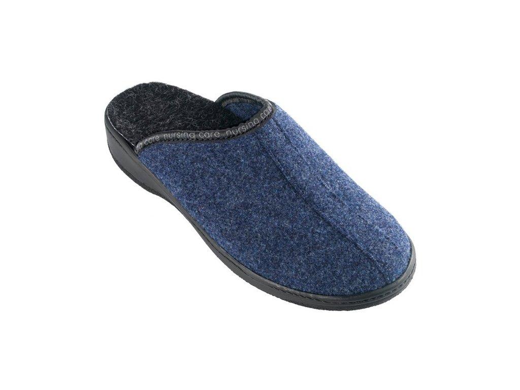 SOBREIRO filcová domácí pantofle unisex tmavě modrá WW203 Nursing Care 1
