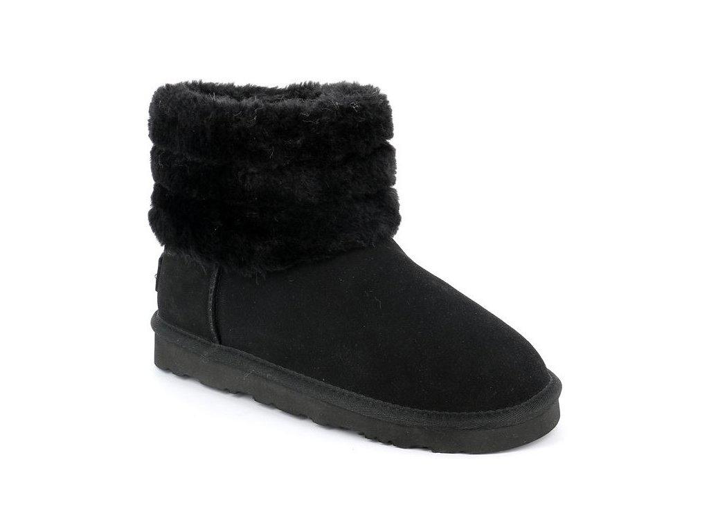 TOME PO1007 sněhule dámské černé Grunland 4