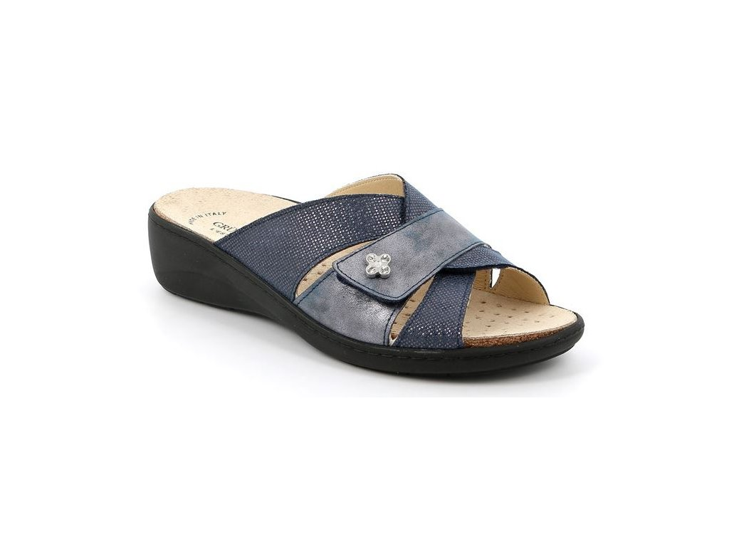 ESTA CE0700 dámská pantofle modrá Grunland 1