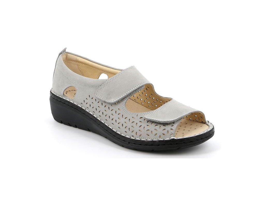 NESI SC4881 dámský sandálek šedý Grunland 1