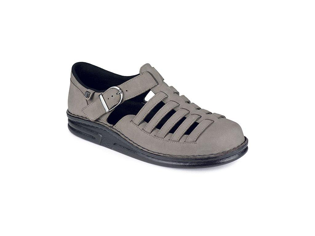 CORSO diabetický sandálek pánský šedý Berkemann