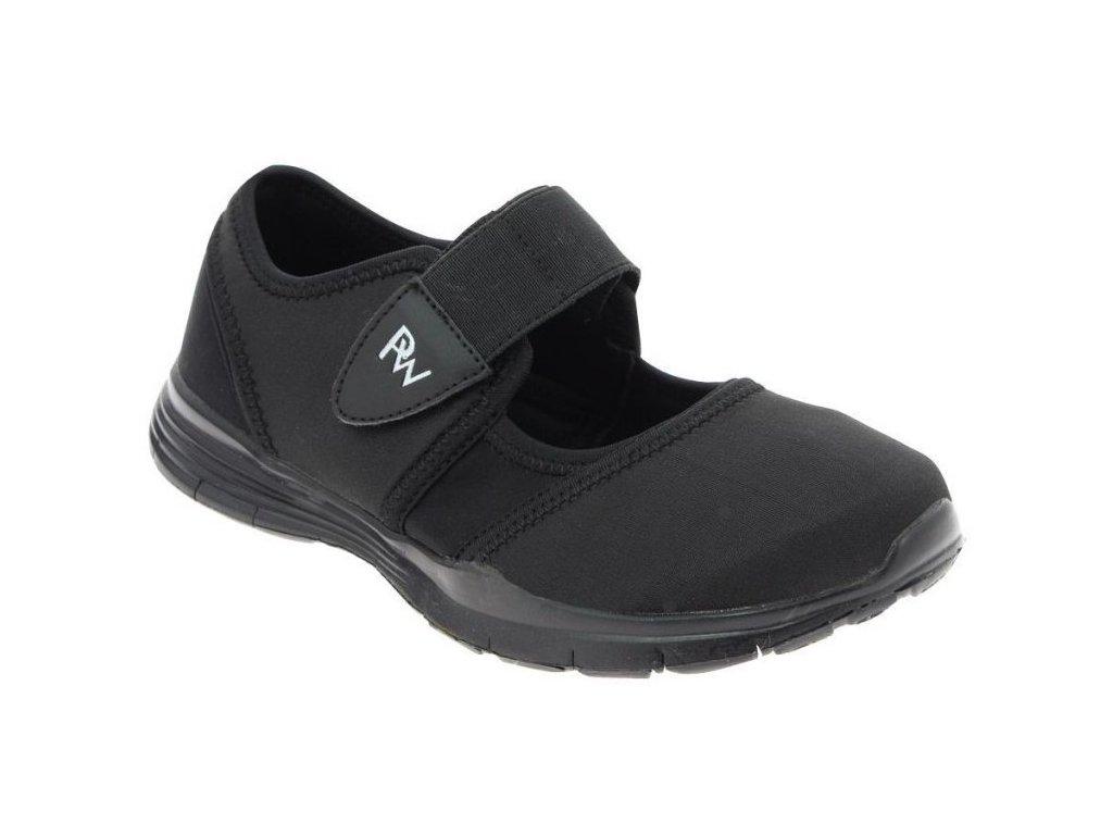 VALENCE volnočasová obuv s paměťovou stélkou dámská černá PodoWell