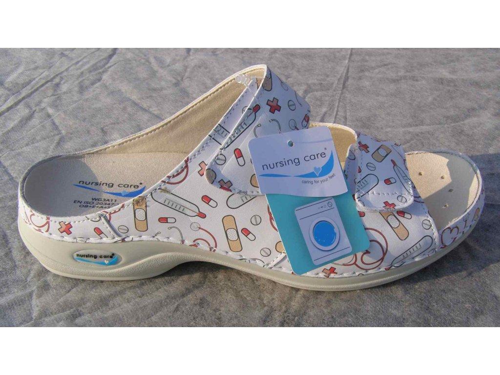 VIENA dámská pantofle pratelná Health10 WG8F25 Nursing Care 2