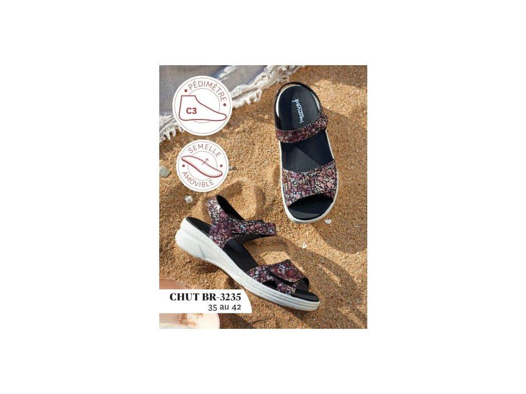 BRUMAN BR3235 dámský sandálek vícebarevný FLD 1