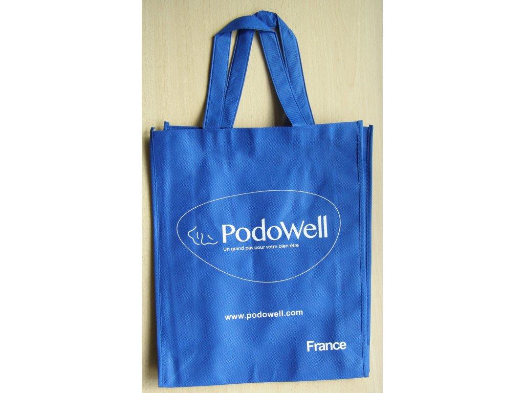 Tašky látkové modré PodoWell