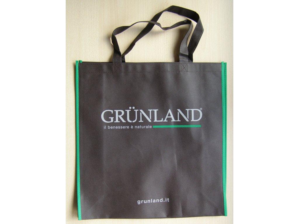 Tašky látkové hnědé Grunland