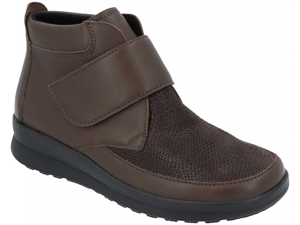 SILKA 05350 787 dámská kotníková obuv hnědá Berkemann