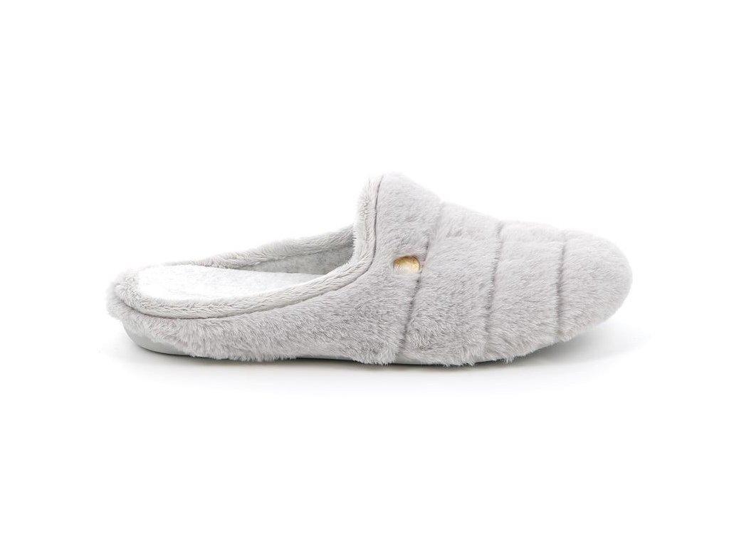 GAYE CI2444 dámská domácí pantofle šedá Grunland 1