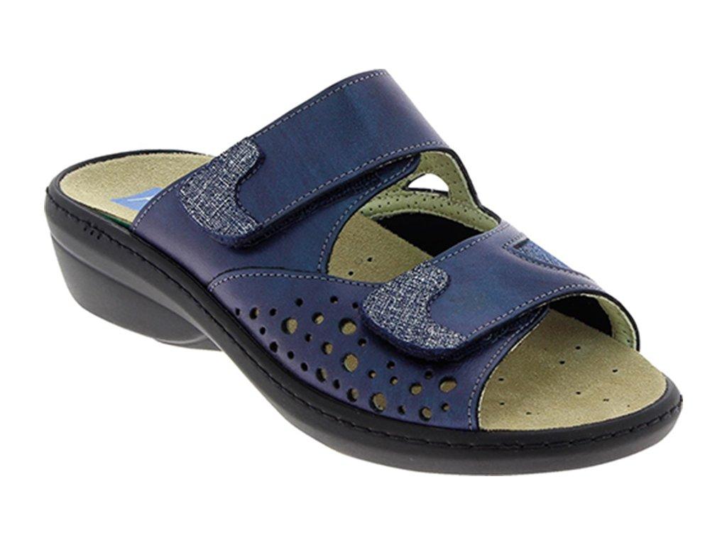DORIS halluxový pantoflík dámský modrá/navy PodoWell