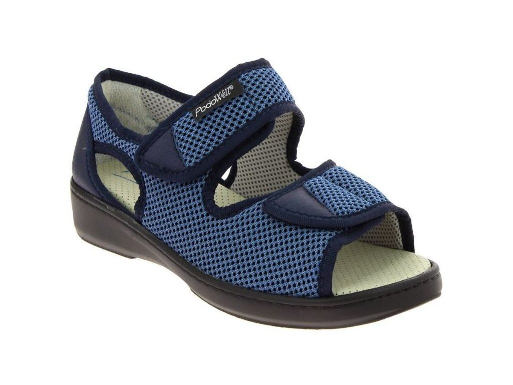 ARSENE-zdravotní-sandálek-unisex-modrá-PodoWell