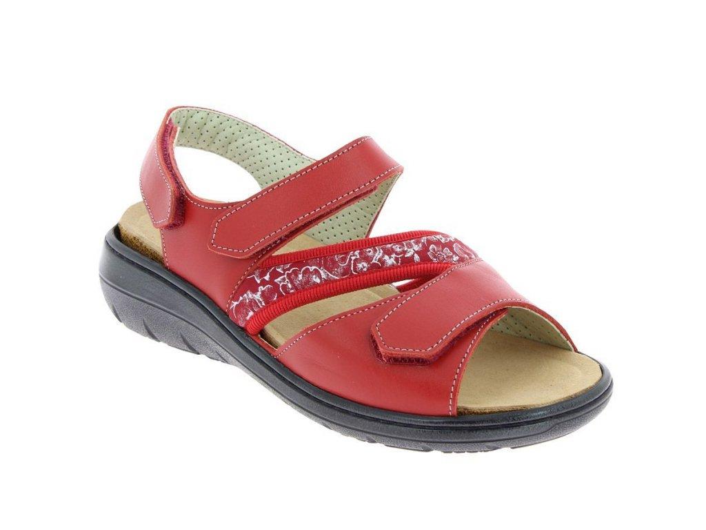GIGI sandálek dámský červený PodoWell