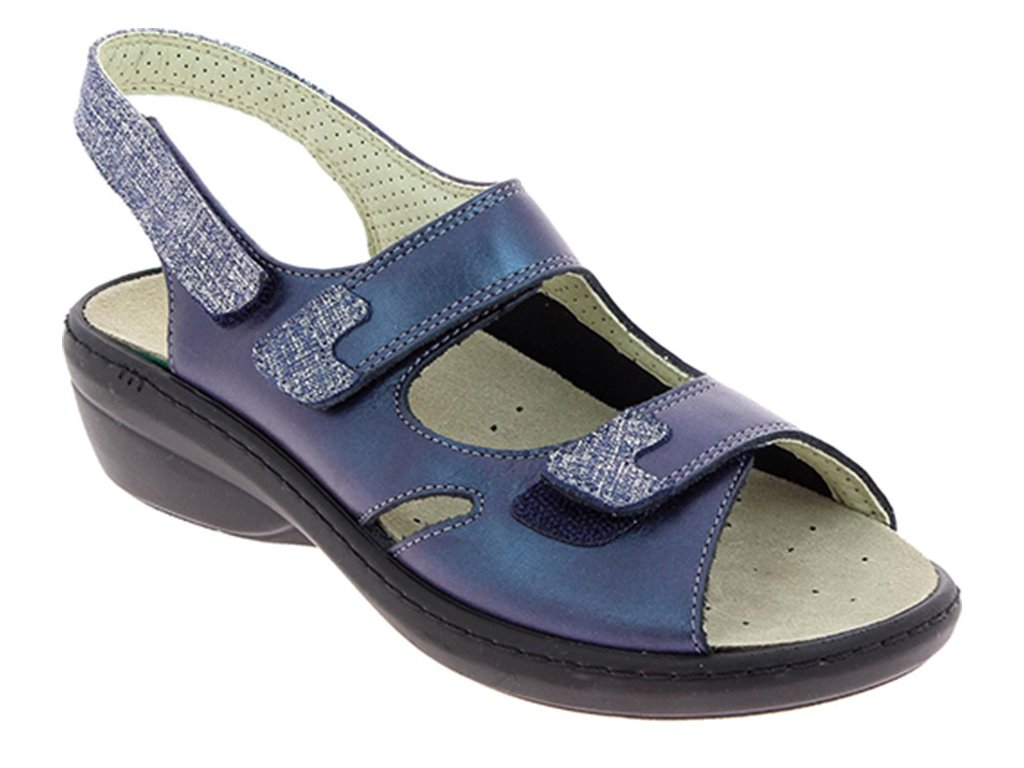 DAMIA halluxový sandálek dámský modrý PodoWell