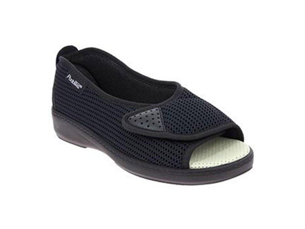 ALLURE zdravotní obuv pro oteklé nohy dámská černá PodoWell 1