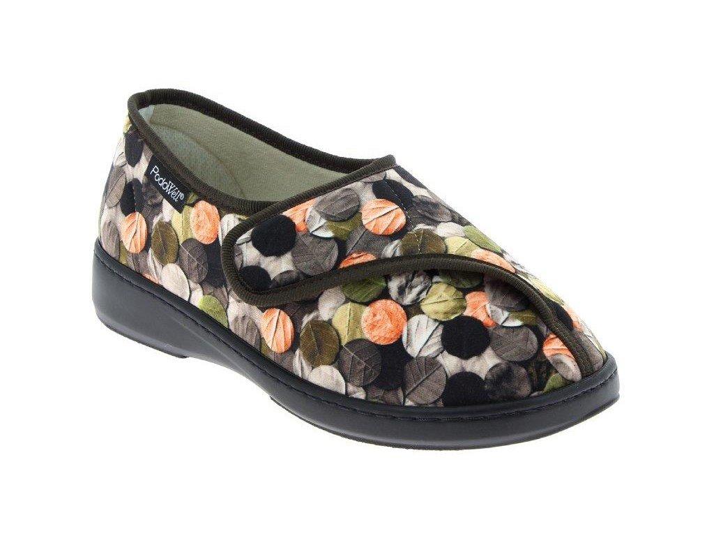 A-ABBA zdravotní obuv dámská hnědá PodoWell