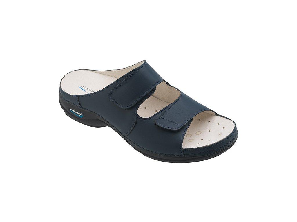 VIENA dámská pantofle pratelná tmavě modrá WG803 Nursing Care 3