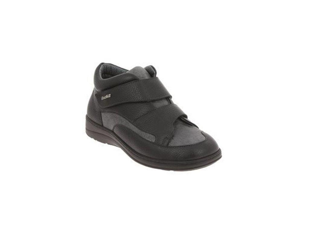 POITIERS zdravotní obuv pánská černá PodoWell