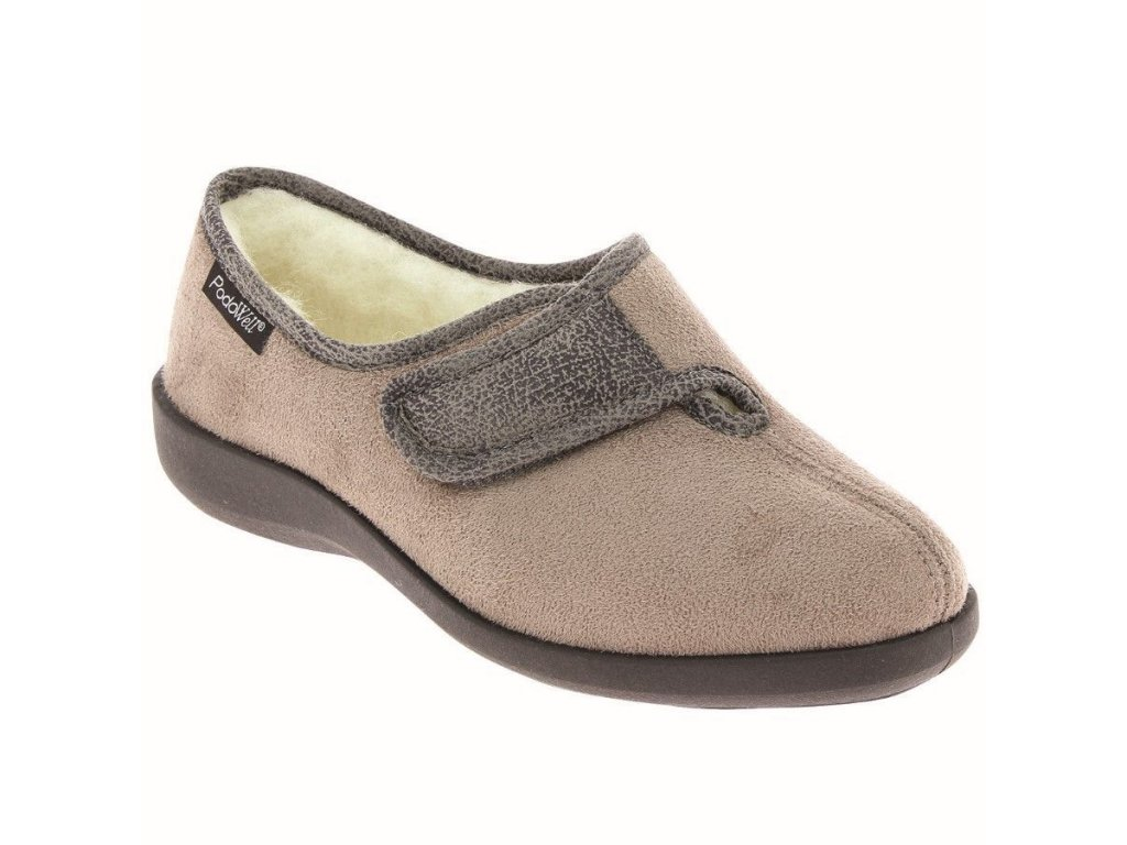 TOTIE zdravotní obuv pro doma béžová PodoWell