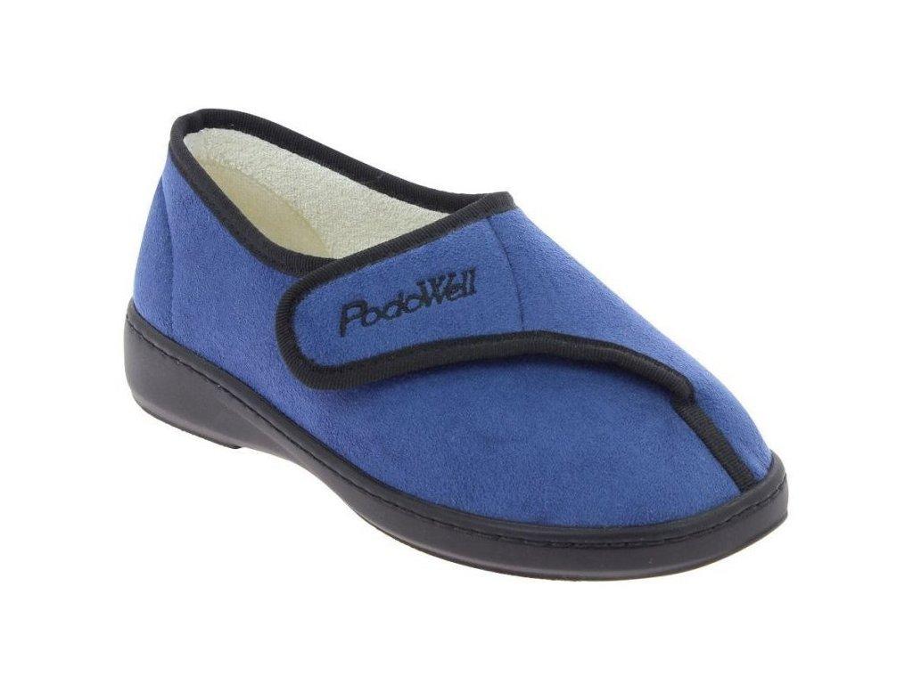 AMIRAL-zdravotní-domácí-obuv-unisex-modrá-PodoWell