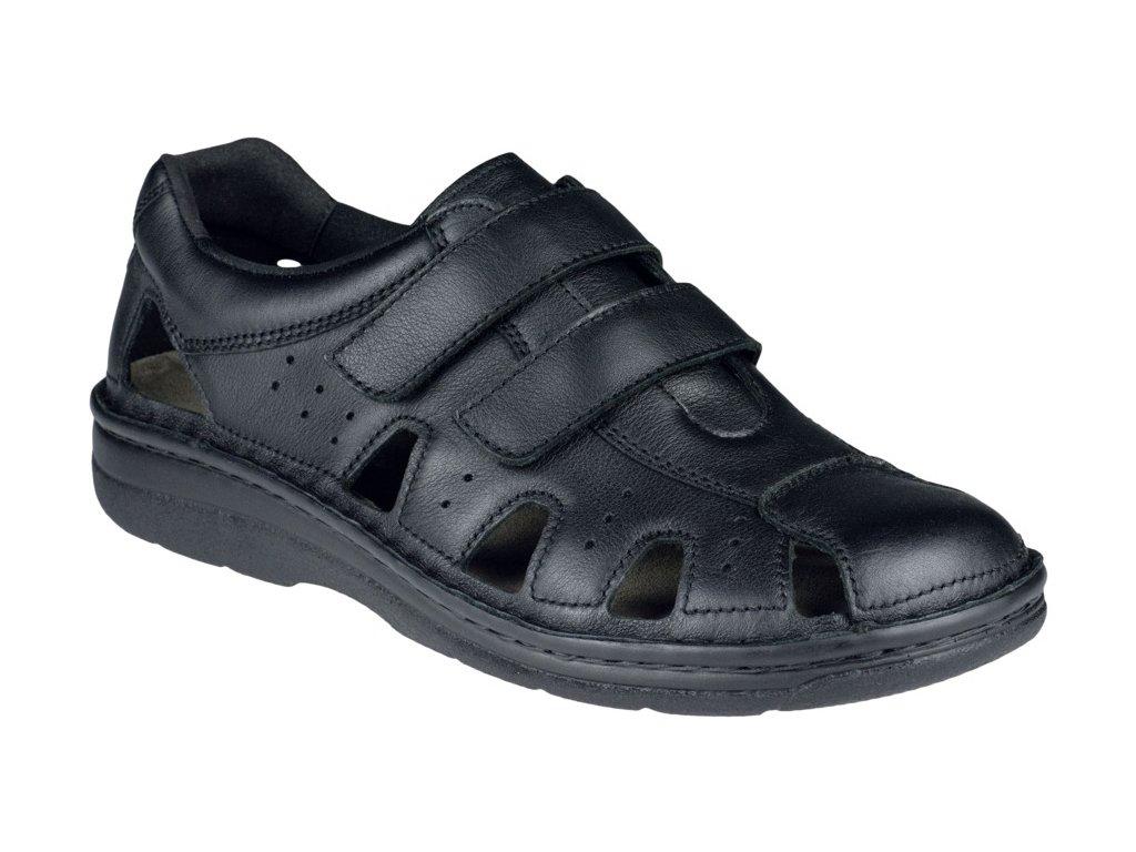 JOOST zdravotní sandál pánský černý Berkemann