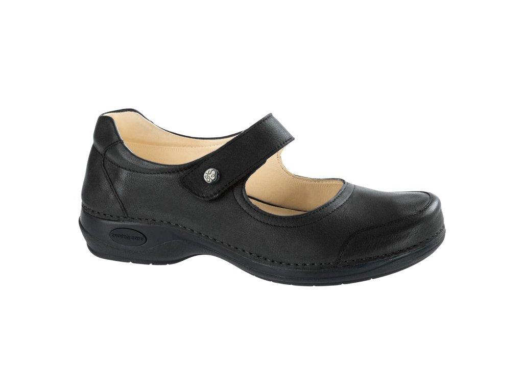 CUBA zdravotní obuv dámská černá C511 Nursing Care
