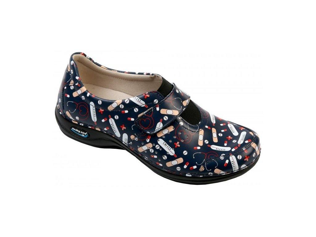 MILAO pracovní kožená pratelná obuv unisex zdravotnictví 03 WG1F26 Nursing Care 2(1)
