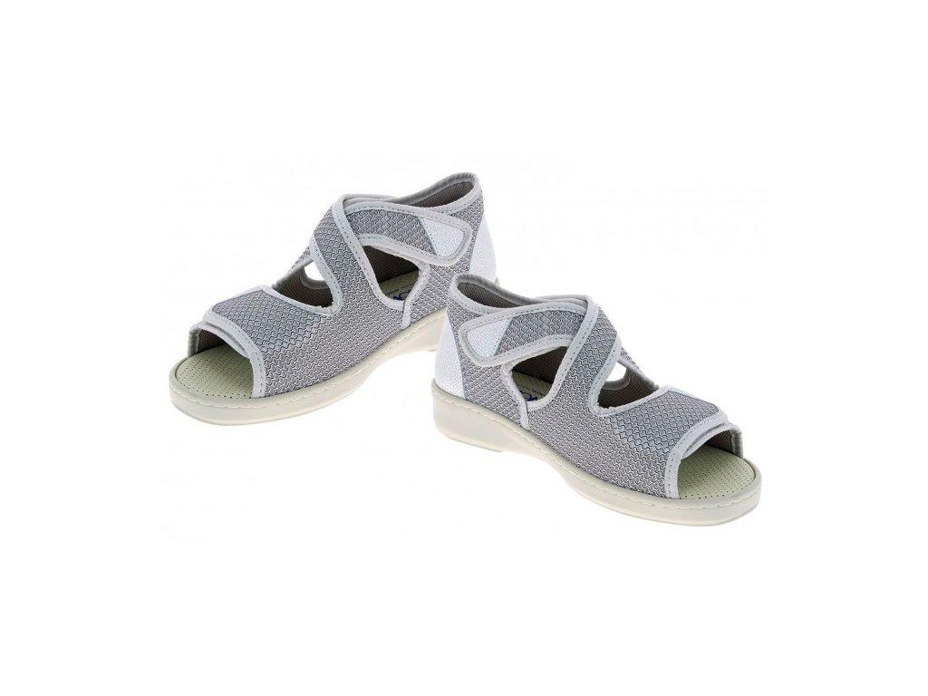 ATHENA zdravotní sandálek dámská perleťová PodoWell